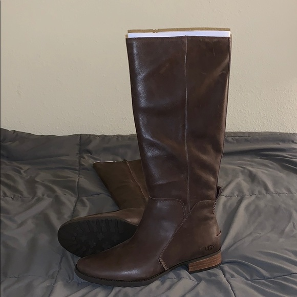 172c3742d67 UGG W Leigh Boots size 10 brown